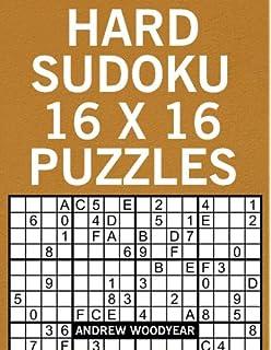 picture regarding Sudoku 16x16 Printable identified as Demanding Sudoku 16 X 16 Puzzles: Sudoku Superior Print Puzzle Textbooks