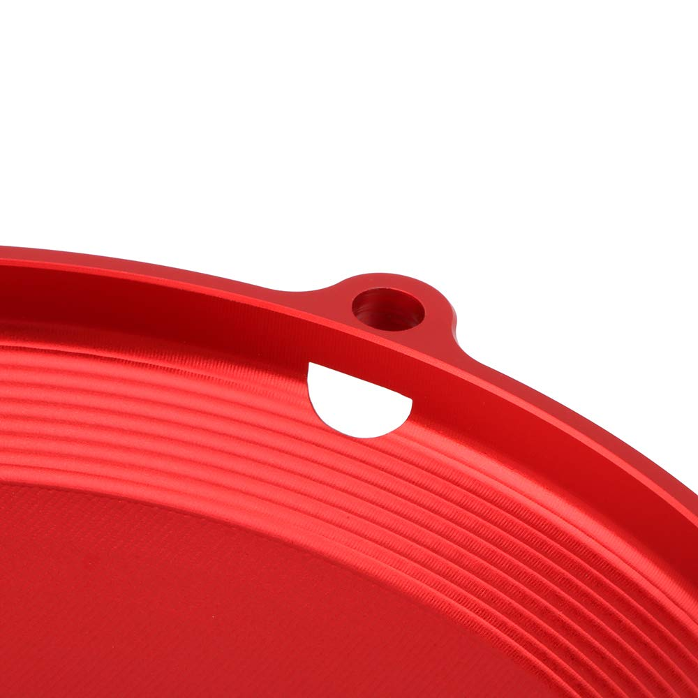 YSMOTO Motorcycle Engine Case Clutch Cover Guard ProtectorAluminum CNC Billet For Honda CRF250X CRF 250X 2004-2017 Dirt Bike Red