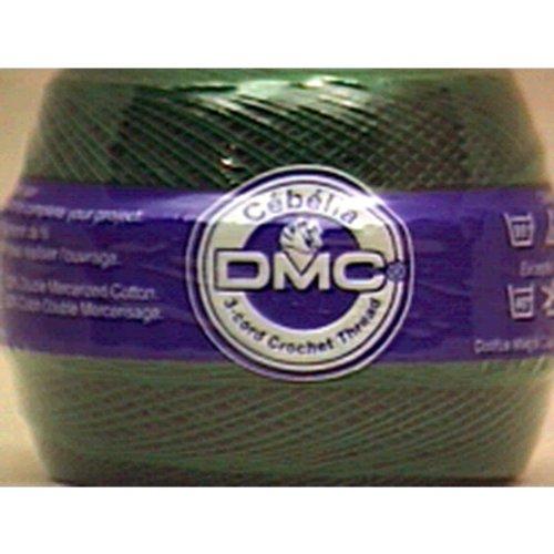 DMC 167GA 30-699 Cebelia Crochet Cotton, 563-Yard, Size 30, Christmas Green by DMC