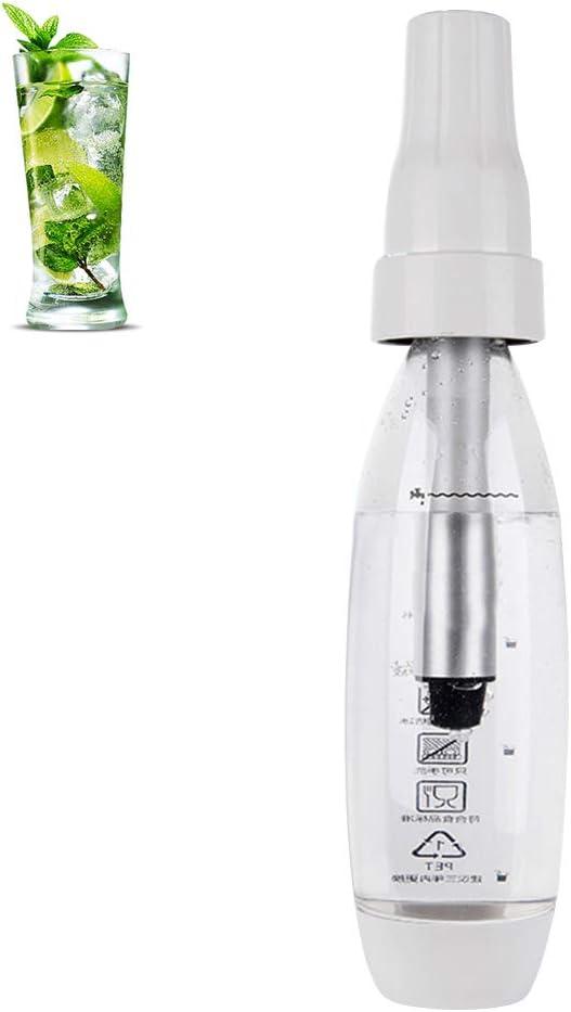 Ggdoo Soda máquina portátil 1000ML Agua con Gas realizador de Asas de Burbujas de Soda máquina de refrescos Dispensadores de Nata Botella para Bebidas de Bricolaje