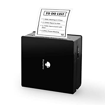 Phomemo Mini Impresora de Bolsillo de Papel inalámbrica con ...