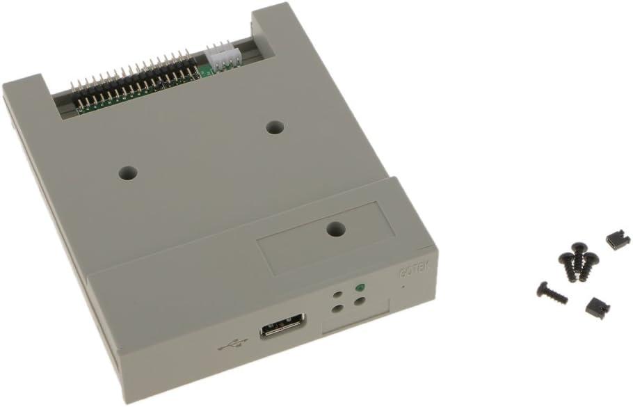 B Blesiya Profesional Unidad de Disquete SFR1M44-U USB Simulador CD 3X Tornillo de Equipos de Control Industrial Herramienta