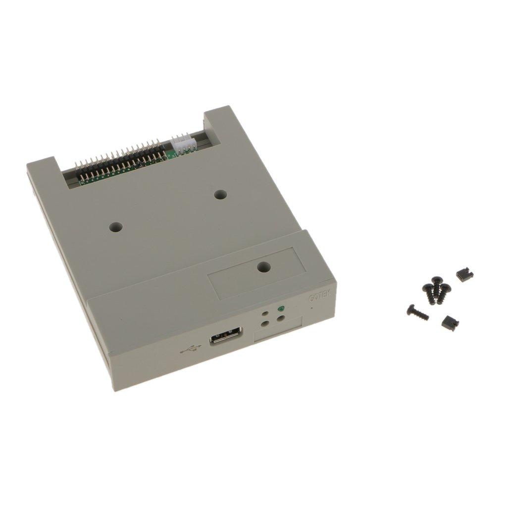 Baoblaze USB Emulador Compatible con Equipo de Control Industrial con Unidad de Disquete Herramientas
