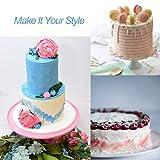 PUCKWAY 4PCS Straight Cake Icing Spatula set with