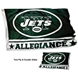 Cheap WinCraft New York Jets Double Sided Allegiance Flag