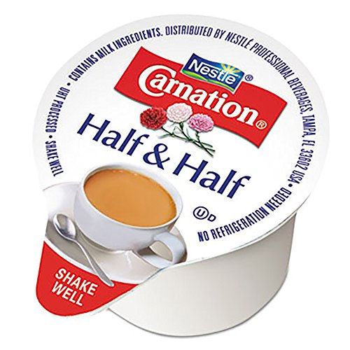 Carnation 18894 Half & Half, 0.304 oz Cups, 360/Carton by Carnation