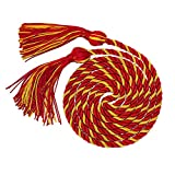 "GraduationMall Graduation Honor Cord 68"" RedGold"