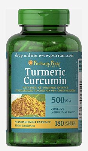 Puritans Pride Turmeric Curcumin Capsules