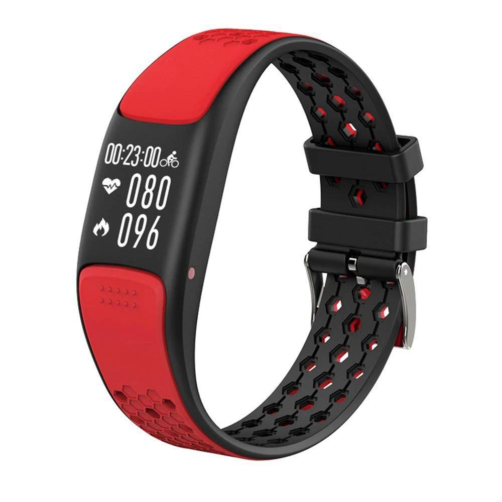 WTGJZN Smart Wristband Sport Fitness Bracelet IP68 Waterproof Support Swimming GPS Activity Tracker Heart Rate Monitoring Smartband