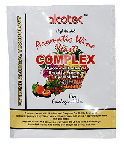 Alcotec Levandura per Vino + Nutrientes + Enzima Pectica 40g ...