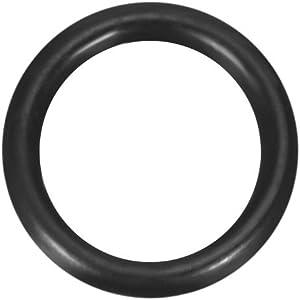 uxcell Nitrile Rubber O-Rings 7mm OD 5mm ID 1mm Width, Metric Buna-N Sealing Gasket, Pack of 50