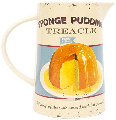 ECP Design Martin Wiscomb Pudding Retro Custard Ceramic Jug ()