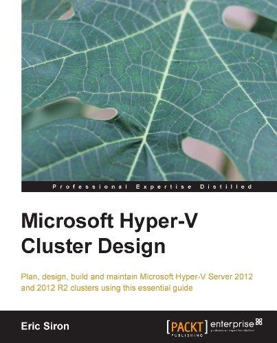 Download Microsoft Hyper-V Cluster Design Pdf