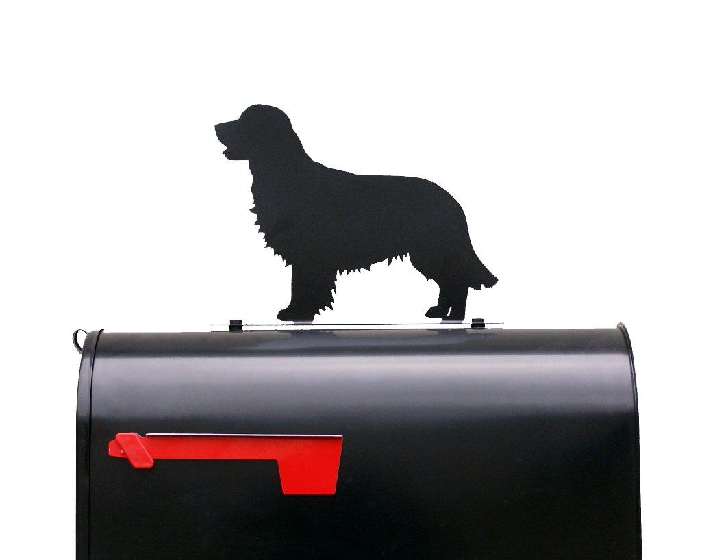 Golden Retriever Dog Mailbox Topper / Sign - Mail Box