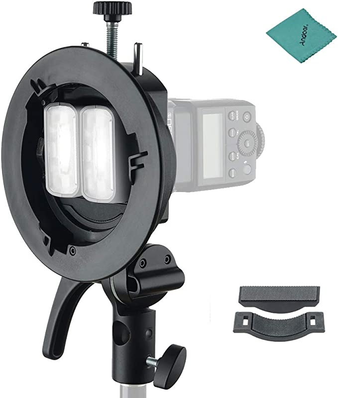 Godox S2 Portable Flash S Type Holder Speedlite Mount Camera Photo
