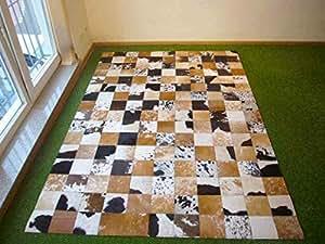 Togibaba alfombra de piel de vaca cupido 810 169x240 cm - Alfombras comedor amazon ...