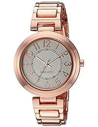 Reloj Nine West Fall Winter 2017 para Mujer 36mm, pulsera de Acero Inoxidable
