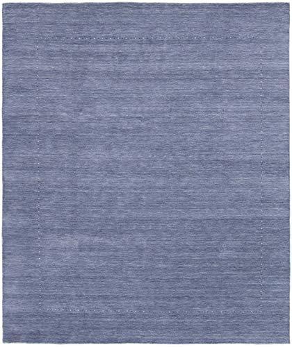 - eCarpet Gallery Large Area Rug for Living Room, Bedroom | Hand-Knotted Wool Rug | Kashkuli Gabbeh Gabbeh Blue Rug 8'2