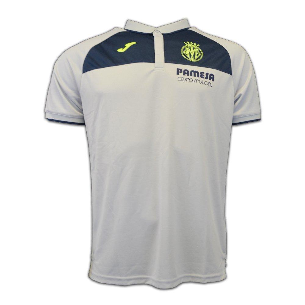 2016-2017 Villarreal Joma Polo Shirt (Grey) B01M7Q1C74Grey XL 42-44\