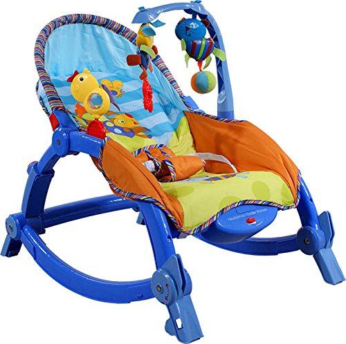 Babyschaukel Babywippe ARTI Edu Soft-Play 971 Blue Bird Dog Cat Schaukel - Babyhochstuhl - Baby wippe - Schaukelwippe - Babyschaukel - Baby Bouncer