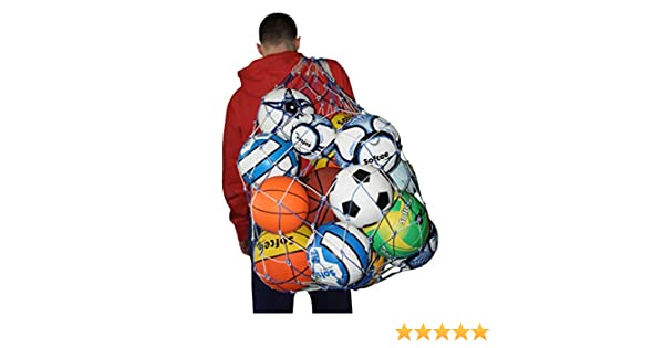 Softee Equipment 0004117 Porta Balones, Unisex, Blanco, S: Amazon ...