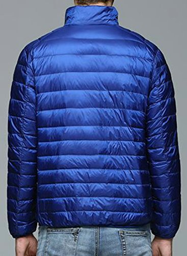 Solid Lightweight Down royal M Mens blue Jackets Fashion EKU tEqH6ZwZ
