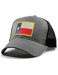 Men's Texas Flag Patch Trucker Hat