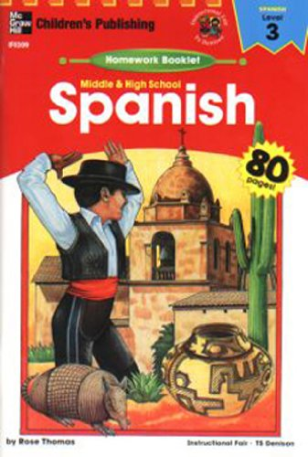 HOMEWORK BOOKLET SPANISH LEVEL 3 MIDDLE/HIGH SCHOOL