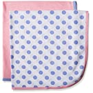 Gerber Baby Girls' 2 Pack Thermal Blankets, Polka Dots, One Size