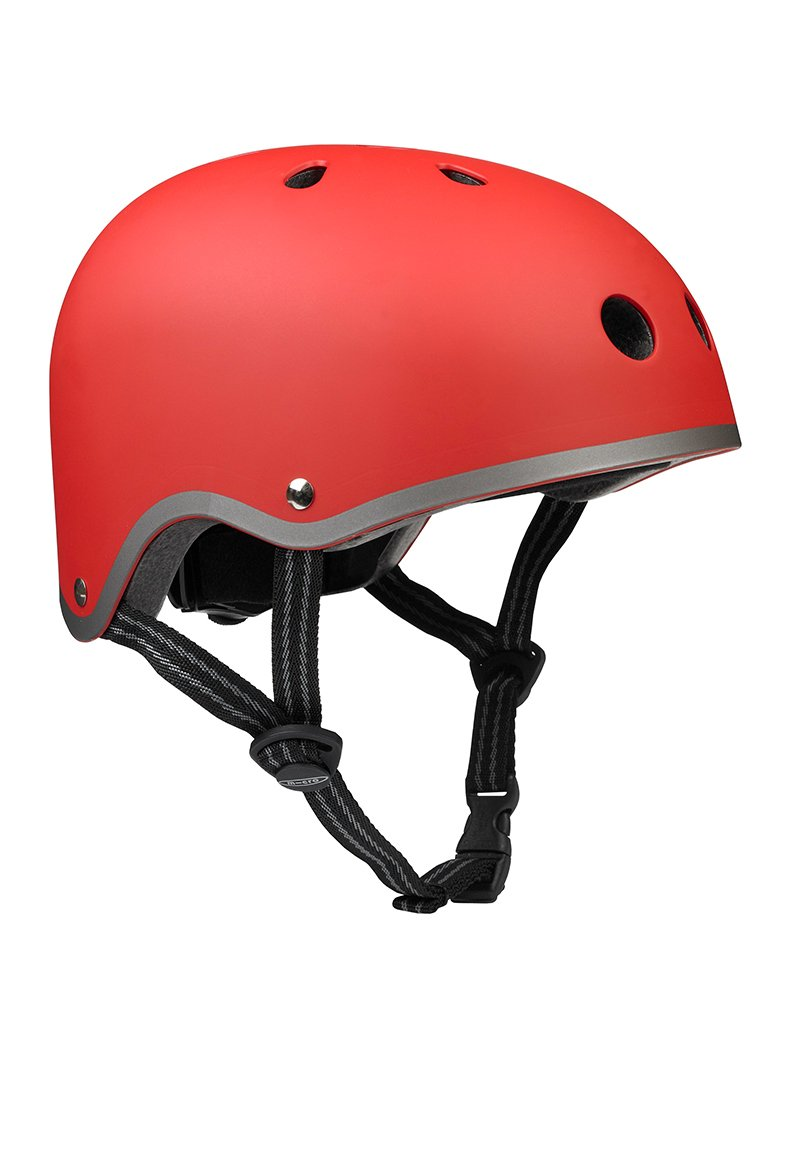 Micro Red Matte Helmet - Small (48-53cm)