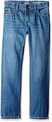 The Children's Place Boys' Straight Leg Jeans,