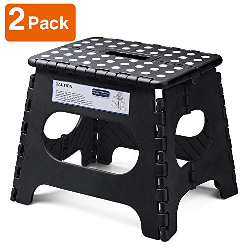 Acko Folding Step Stool Lightweight Plastic Step Stool - 11