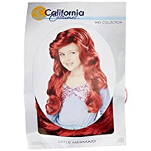 California Costumes Little Mermaid Wig, Red, Child Accessory, One Color