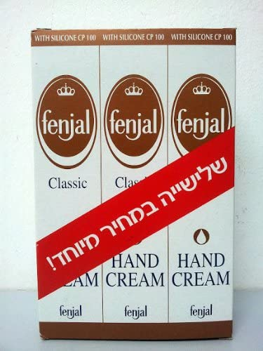New Fenjal Classic Hand Cream Lot Of 3 Silicone Cp 100 Women