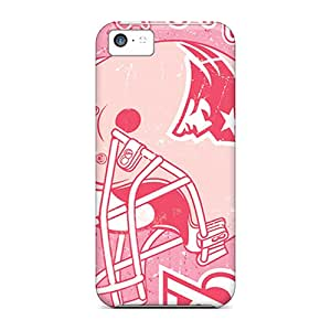 SAZ2364AQvu Tpu Phone Case With Fashionable Look For Iphone 5c - New England Patriots
