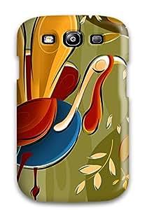 GJZVCgT3384GUjIO Case Cover Protector For Galaxy S3 Thanksgivings Case