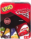 Uno Cars Card Game Tin Card Game