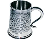 1 Pint All Over Celtic Pattern Tankard