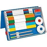 LEGO Stationery Organizer - Storage for School Supplies and Building Bricks