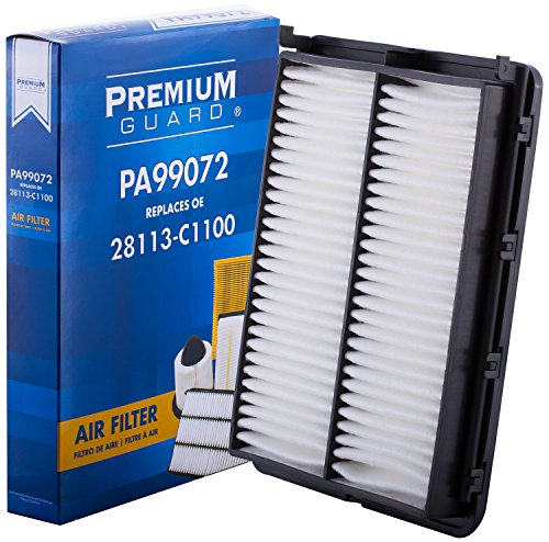 PG Air Filter PA99072 | Fits 2015-18 Hyundai Sonata, 2016-18 Kia Optima