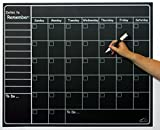"""Large Chalkboard Sticker Calendar Wall Organizer Decal 
