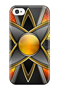 YY-ONE Orange Star/ Fashionable Case For Iphone 4/4s