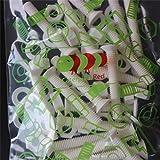 20 x White Countersunk Screws Polypropylene
