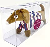 Dritz Collectible Dog Pincushion, Dachshund in Striped Sweater
