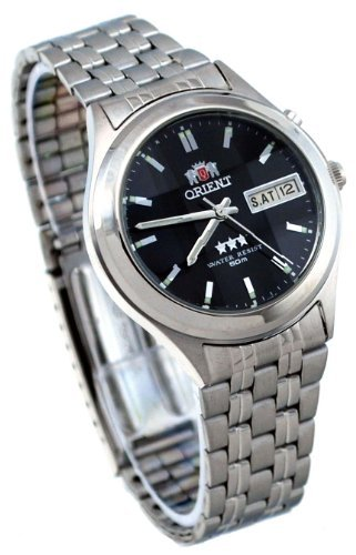 Orient BEM5V002B Facet Stainless Automatic product image