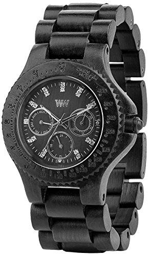 WeWood Cygnus Black Wooden Watch