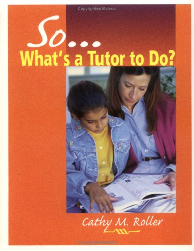 So What's a Tutor to Do?