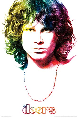 "Trends International the Doors-Morrison Wall Poster, 22.375"" x 34"", Multi"