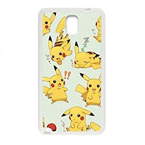 Anime cartoon Pokemon Pikachu Cell Phone For SamSung Note 3 Case Cover
