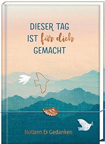 Tagebuch mit Flügel-Armband - Dieser Tag ist für dich gemacht: Notizen & Gedanken